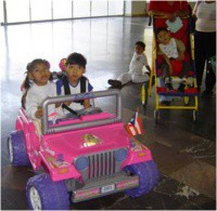 Adapted power wheels